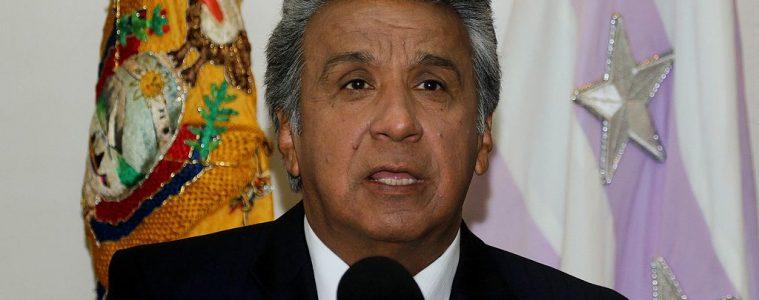 Presidente Lenín Moreno | Foto: César Muñoz, Andes, vía Wikicommons