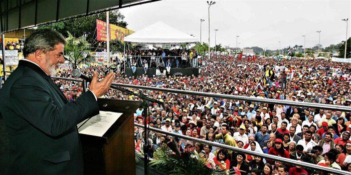 El presidente Lula en la ceremonia de lanzamiento del Plan Safra, agosto de 2005 | Foto: Ricardo Stuckert, vía Wikicommons