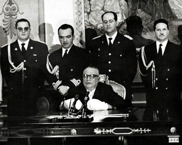 Bentancourt luego del golpe de Estado encargado por Rafael Leonidas Trujillo el 24 de junio de 1960