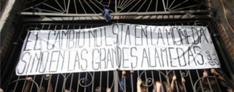 «El cambio no está en la moneda sino en las grandes alamedas»
