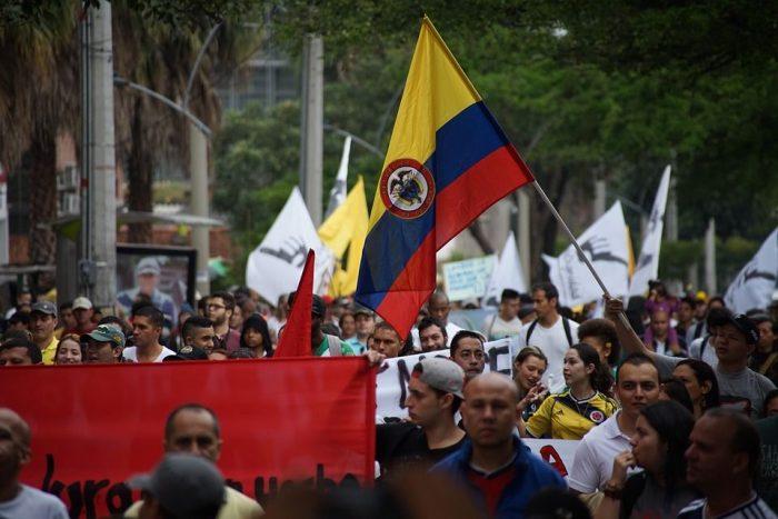 Manifestación ciudadana en Medellín, Colombia | Foto: Pixabay