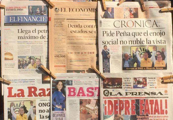 Contra la tendencia mundial, en México hay cada vez más medios impresos | Foto: Carlos Castillo