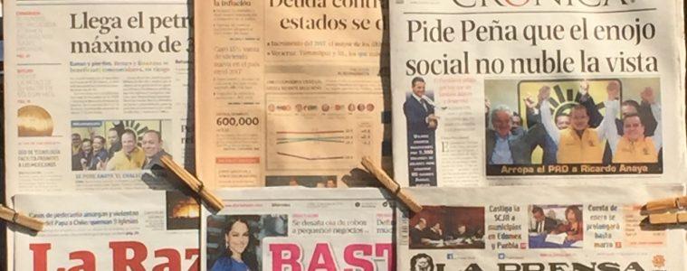 Contra la tendencia mundial, en México hay cada vez más medios impresos   Foto: Carlos Castillo