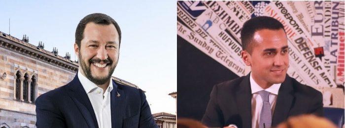 Matteo Salvini (La Lega) yLuigi Di Maio (Movimiento 5 Estrellas)