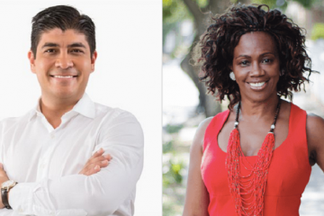 Carlos Alvarado y Epsy Campbell, nuevos presidente y vicepresidente de Costa Rica | Imagen: Wikicommons