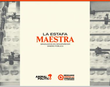El Premio Ortega y Gasset de Periodismo 2018, categoría Investigación, para el portal de noticias Animal Político  Imagen: captura web