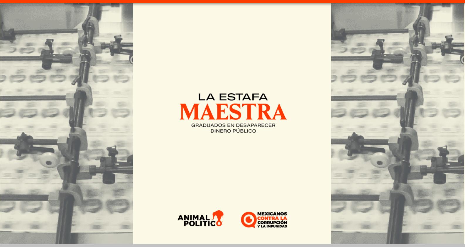El Premio Ortega y Gasset de Periodismo 2018, categoría Investigación, para el portal de noticias Animal Político| Imagen: captura web
