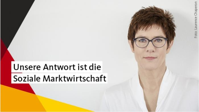 Annegret Kramp-Karrenbauer, secretaria general de la Unión Demócrata Cristiana de Alemania | Foto: Laurence Chaperon