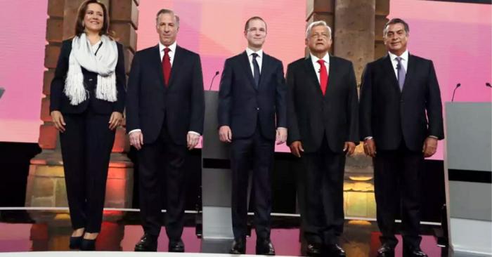 Los candidatos presidenciales protagonizaron debate