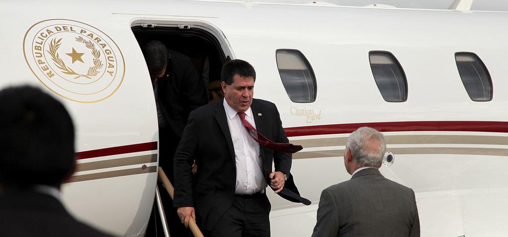 Presidente Horacio Cartes, de Paraguay | Foto: Cancillería Ecuador