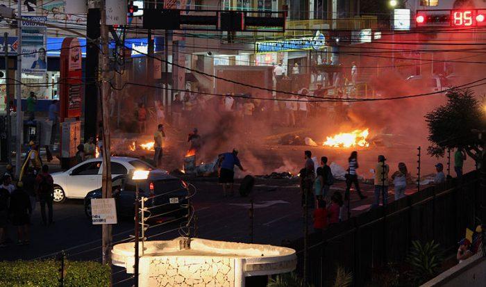 Protestas contra el régimen en Caracas | Foto: WIkicommons