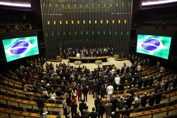 Apertura del año legislativo 2018 en el Congreso Nacional, en Brasilia | Foto: Wilson Dias/Agência Brasil