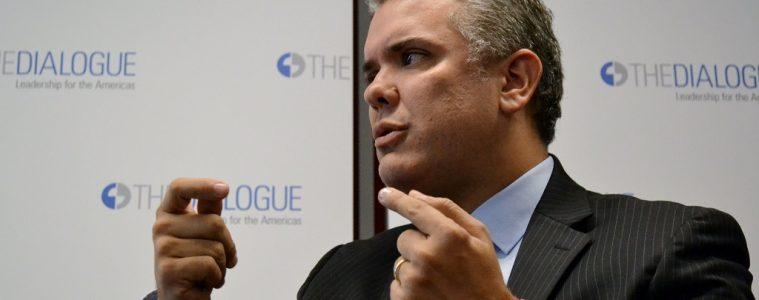 Presidente electo, Iván Duque Márquez | Foto: Inter-American Dialogue, vía Flickr