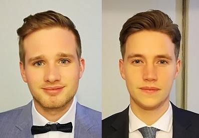 Johannes Karl y Richard Wichmann