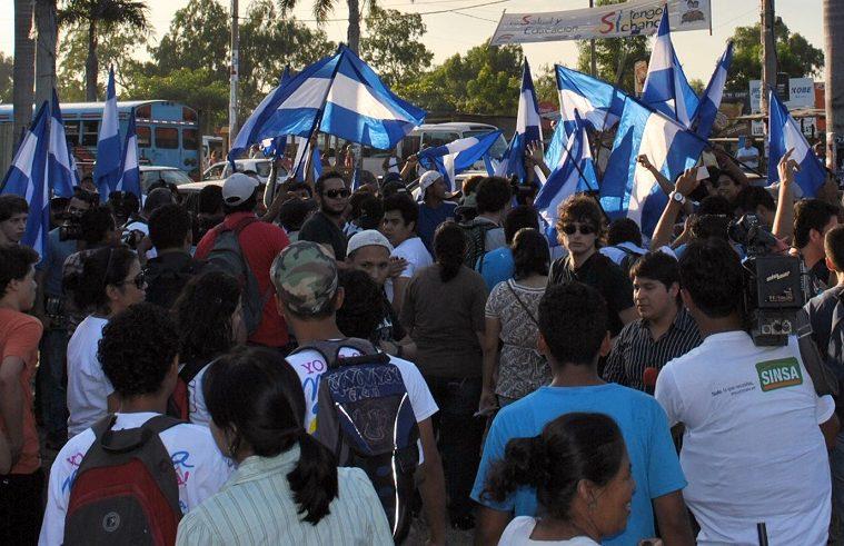Protestas en Managua   Foto: Conexiones, vía Flickr