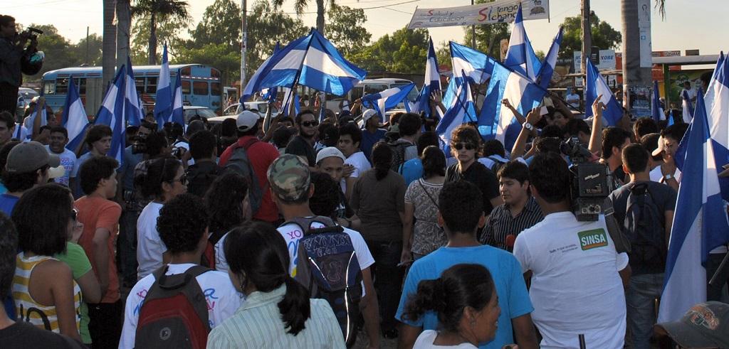Protestas en Managua | Foto: Conexiones, vía Flickr