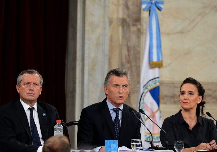Presidente Mauricio Macri ate la Asamblea Legislativa | Foto: Presidencia de la Nación argentina
