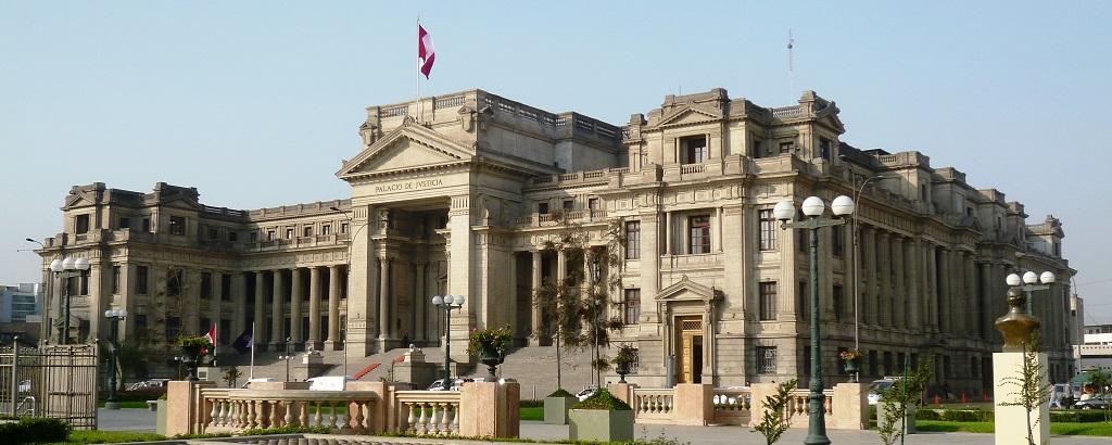 Palacio de Justicia, ciudad de Lima