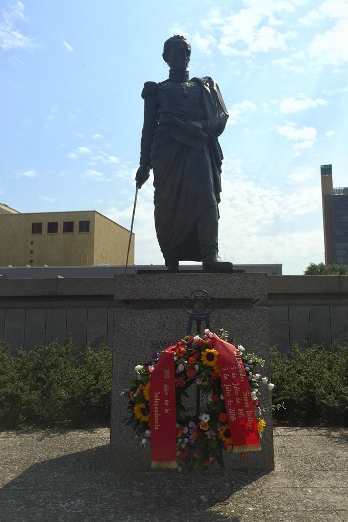 Estatua de Simón Bolívar en Berlín