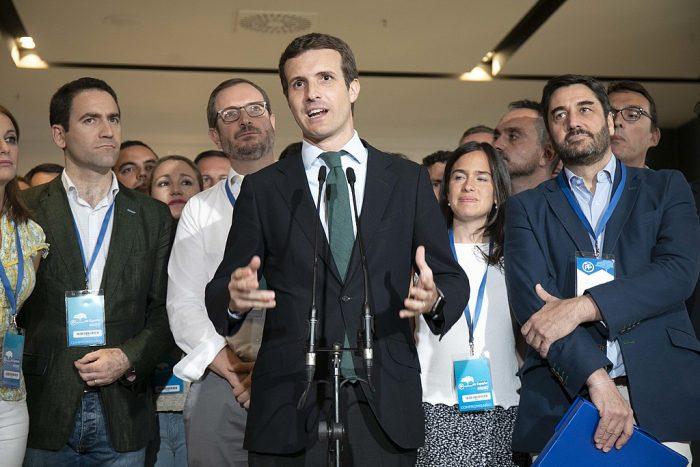 Pablo Casado, líder del PP español