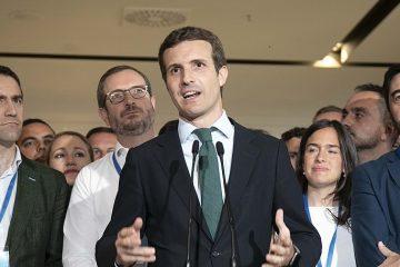 Pablo Casado, presidente del Partido Popular español