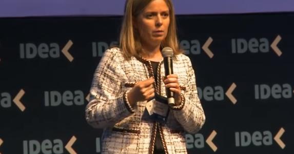 Rosario Altgelt, presidente del 54° Coloquio IDEA, | Imagen: canal Youtube IDEA Arg