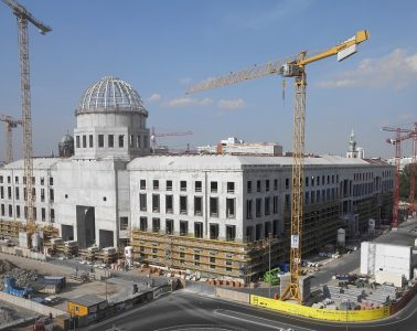 Palacio Real de Berlín, sede del Foro Humboldt en construcción | Foto: Sbs-Hf , vía Wikicommons