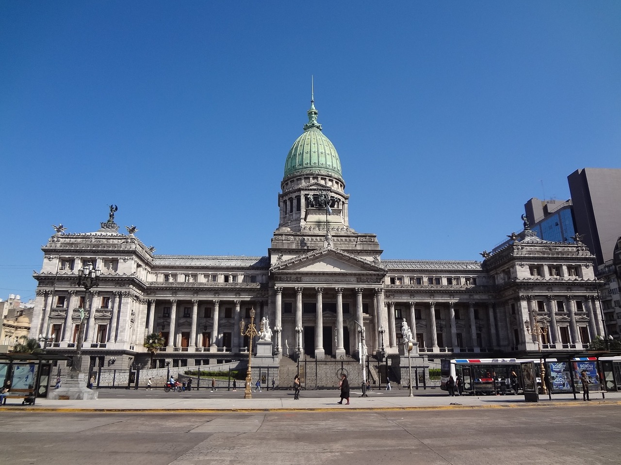Congreso de la Nación, en Buenos Aires, Argentina | Foto: Pixabay.