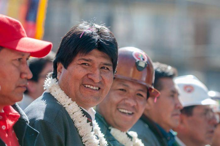 Presidente Evo Morales | Foto: Eneas de Troya, vía Flickr