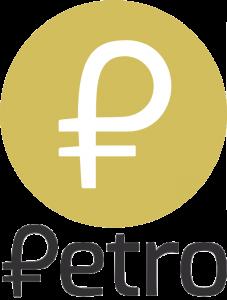 logo de la criptomoneda petro