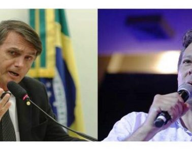 En la segunda vuelta se enfrentan Jair Bolsonaro y Fernando Haddad