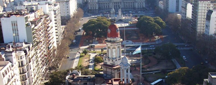 Buenos Aires, vista desde el Palacio Barolo | Fuente: WikiCommons.