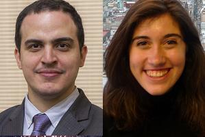 Pablo Biderbost y Cristina Bravo