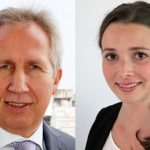 Hans Blomeier y Celina Menzel