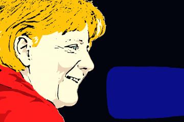 Canciller Angela Merkel | Ilustración: Guillermo Tell Aveledo