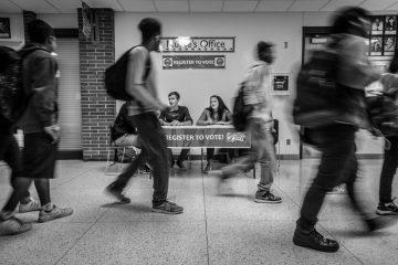 Midterm elections 2018: protegiendo el voto (Campaña del registro nacional de votantes en Estados Unidos | Foto: Phil Roeder – CC BY 2.0)