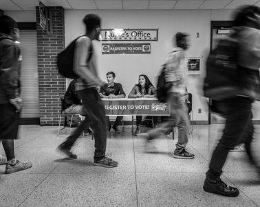 Midterm elections 2018: protegiendo el voto (Campaña del registro nacional de votantes en Estados Unidos   Foto: Phil Roeder – CC BY 2.0)
