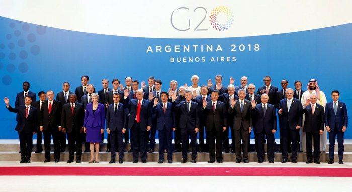 Líderes del G20 en la cumbre de Buenos Aires, 30 de noviembre de 2018 | Foto: Flickr