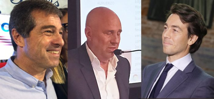 Ernesto Talvi, Edgardo Novick, Juan Sartori