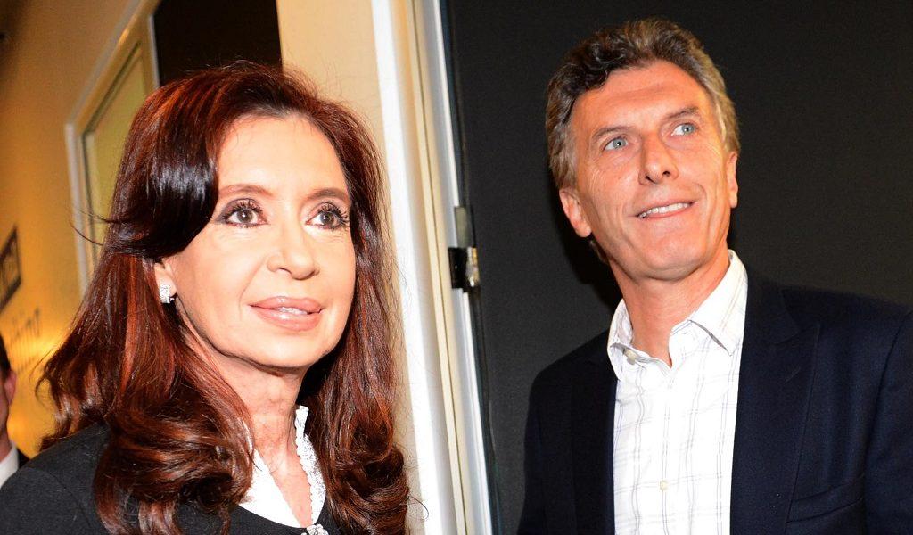 Cristina Fernández y Mauricio Macri | Foto: Casa Rosada, vía Wikicommons