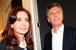 Cristina Fernández y Mauricio Macri   Foto: Casa Rosada, vía Wikicommons