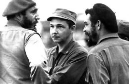 Fidel Castro, Raúl Castro, Ernesto «Che» Guevara