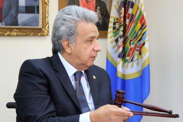 Presidente Lenín Moreno | Foto: Corte IDH, vía Flickr