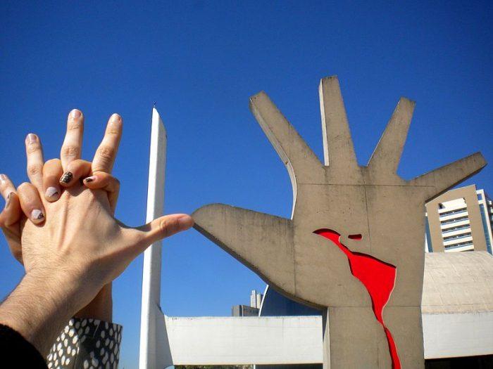 Memorial de América Latina, San Pablo, Brasil | Foto: Fernanda Rocha, vía Wikicommons