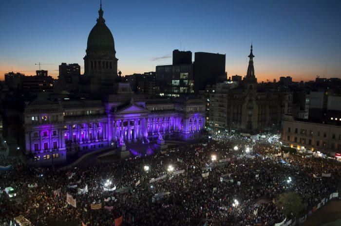 Marcha 8M de 2018, en Buenos Aires | Foto: María Pirsch (Instagram: @mariapirsch)