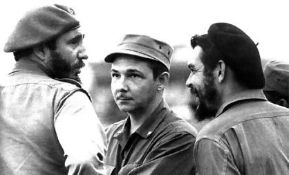 Fidel Castro, Raúl Castro, Ernesto Che Guevara