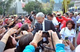 López Obrador, con cerca del 80 % de aprobación   Foto: ProtoplasmaKid, vía Wikicommons