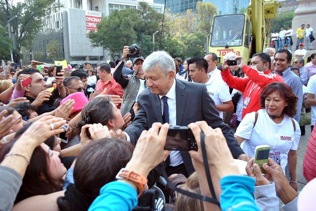López Obrador, con cerca del 80 % de aprobación | Foto: ProtoplasmaKid, vía Wikicommons