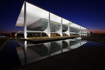 Palacio del Planalto, en Brasilia, sede del Poder Ejecutivo de Brasil. Foto: Gastão Guedes, vía Wikicommons