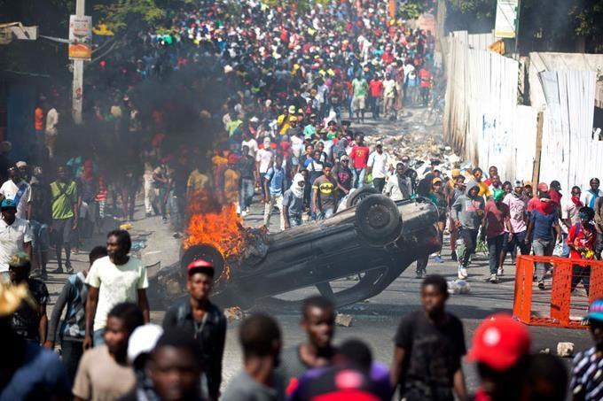 Las protestas en Haití se prolongan por tres semanas